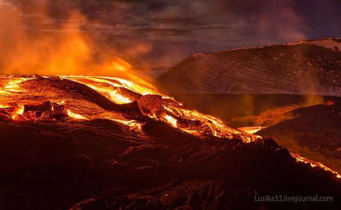 Tolbachic Volcano - Lusika33 - Mountain On Fire