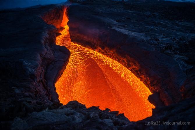 Tolbachic Volcano - Lusika33 - River Close Up