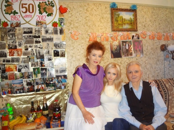 Valeria Lukyanova - Family - Grandparents