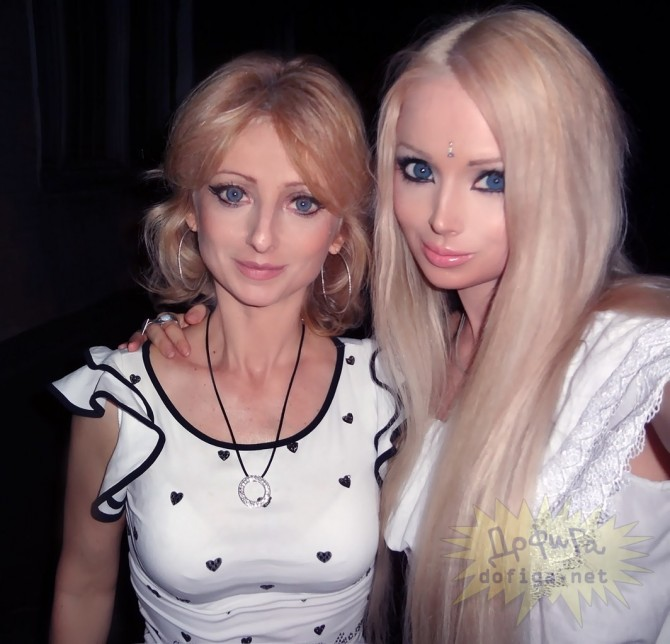 Valeria Lukyanova - Family - Mother 2