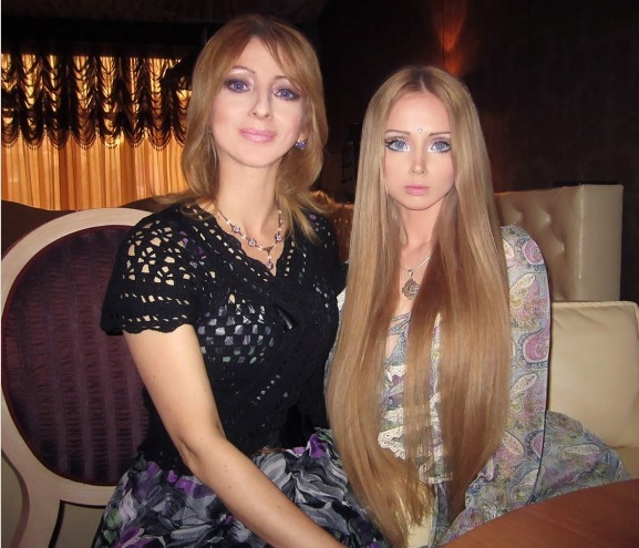 Valeria Lukyanova - Family - Mother