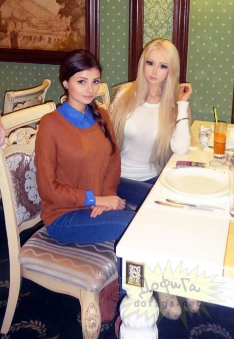 Valeria Lukyanova - Family - Sister