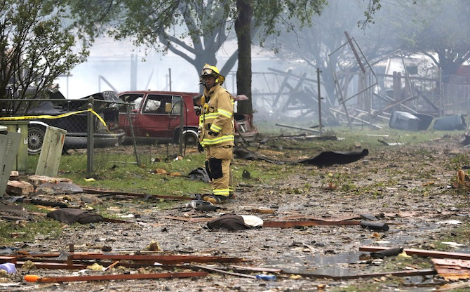 Waco Fertilizer Plant Explosion 11