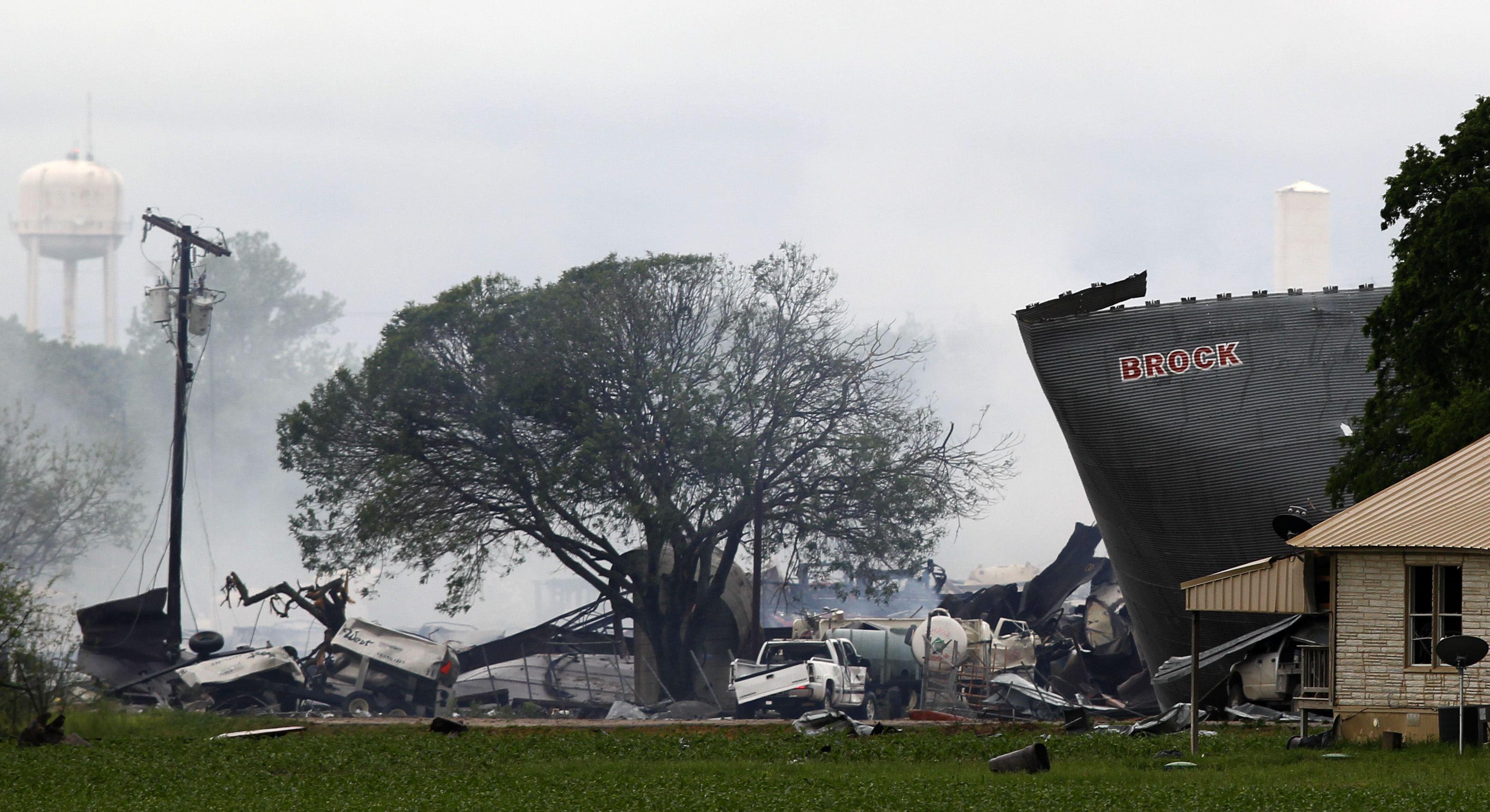 Waco Fertilizer Plant Explosion 10