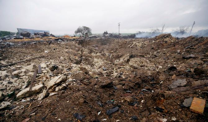 Waco Fertilizer Plant Explosion 14