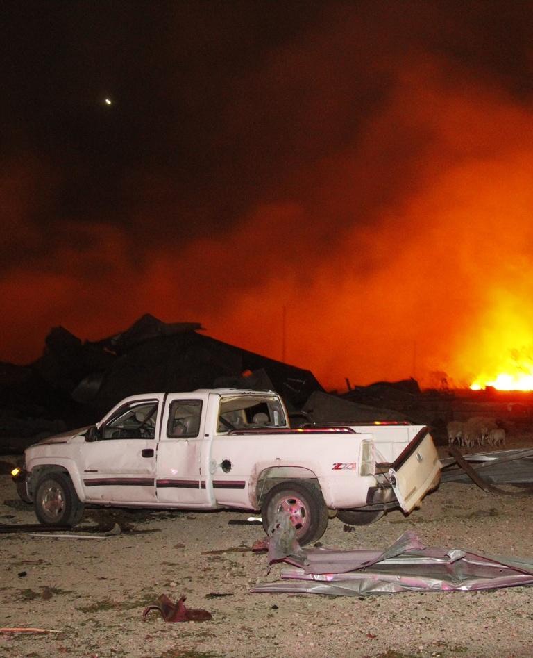 Waco Fertilizer Plant Explosion 2