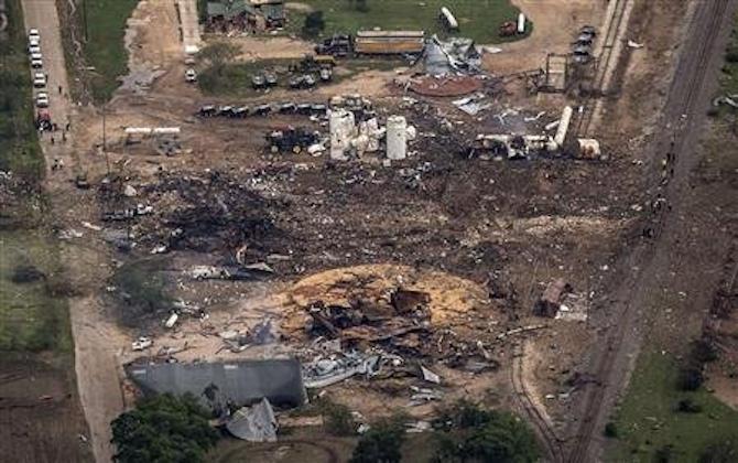 Waco Fertilizer Plant Explosion 20