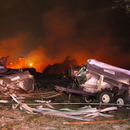 Waco Fertilizer Plant Explosion 8