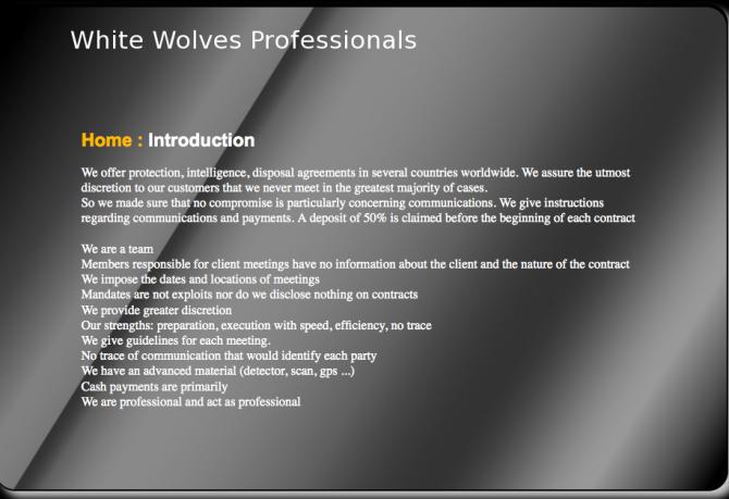 White Wolves 1