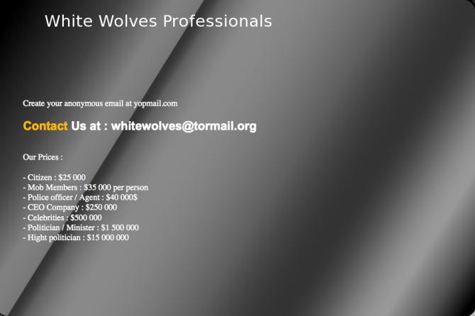 White Wolves 3