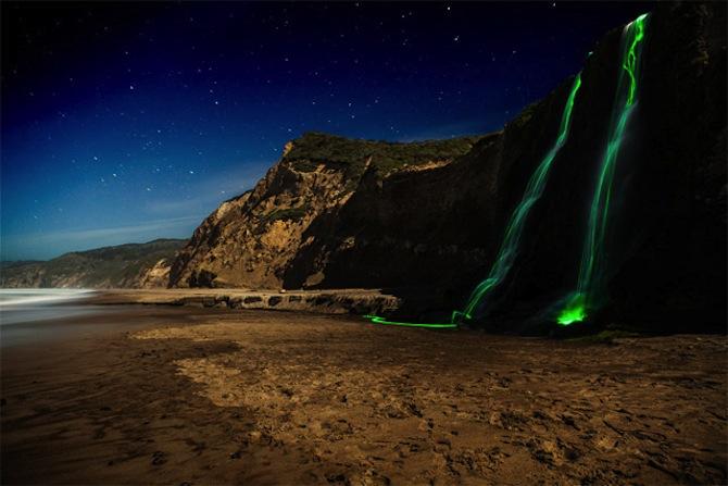 Neon Waterfall 6