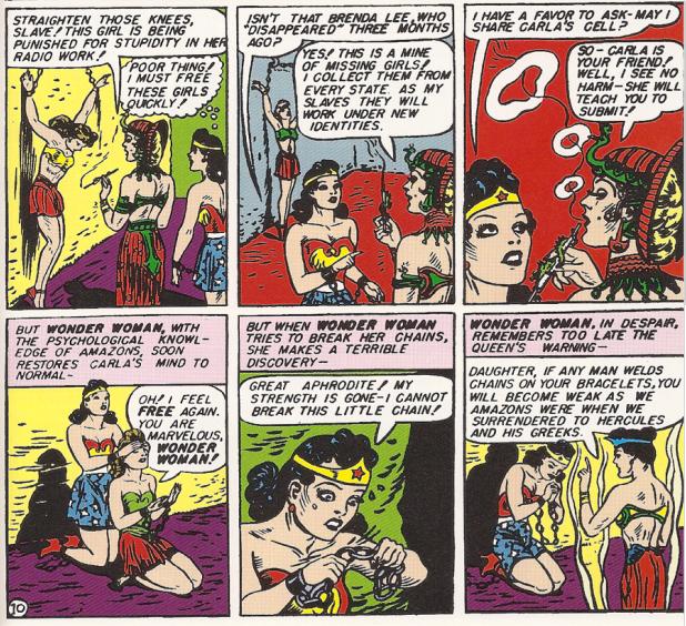 Wonder Woman's Dark Secret