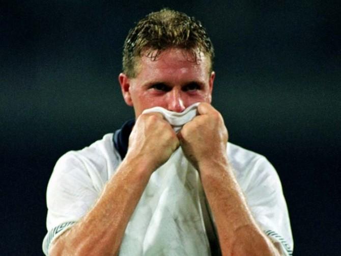 Crying Footballer