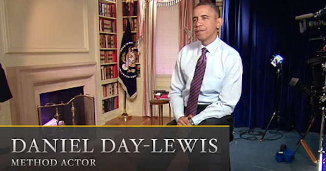 Daniel Day Lewis Barack Obama