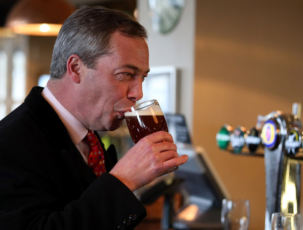 Farage drink 1