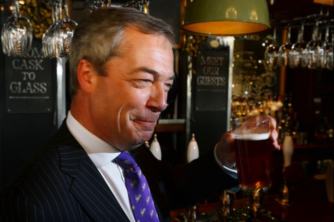 Farage drink 2