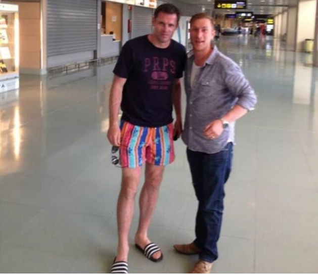 Jamie Carragher Holiday Shorts
