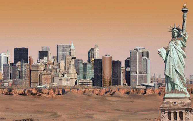 What Would The New York City Skyline Look Like In The ...