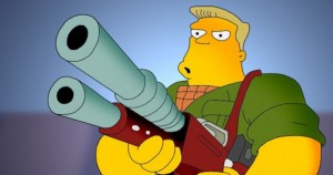 If You Put All The Scenes From McBain From The Simpsons Back To Back, It Actually Makes A McBain Movie