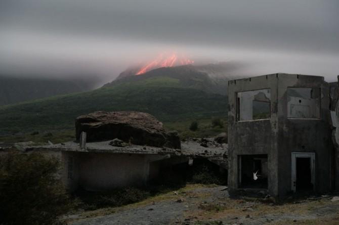 Montserrat - Plymouth - Abandoned Buildings - Volcano