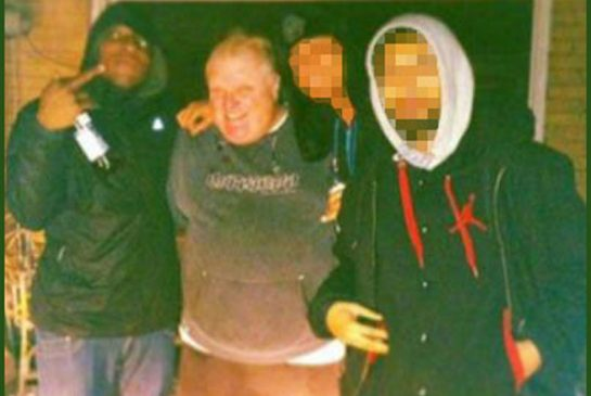 Rob Ford with Dealers