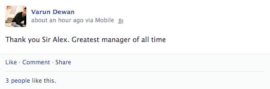 Sir Alex Ferguson Retirement 21