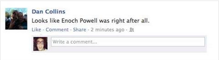 Woolwich Facebook Reaction 19