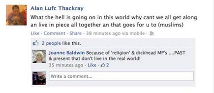 Woolwich Facebook Reaction 16