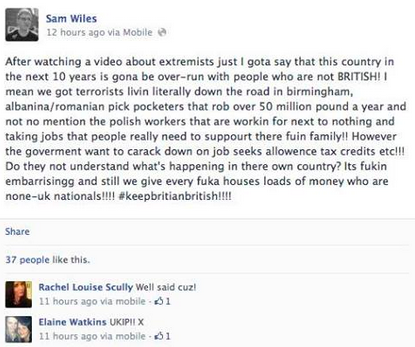 Woolwich Facebook Reaction 15