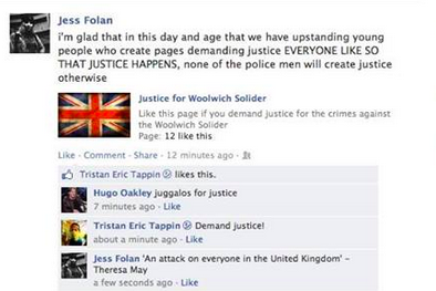 Woolwich Facebook Reaction 11