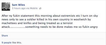 Woolwich Facebook Reaction 9