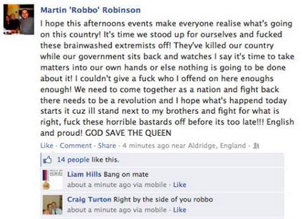 Woolwich Facebook Reaction 6