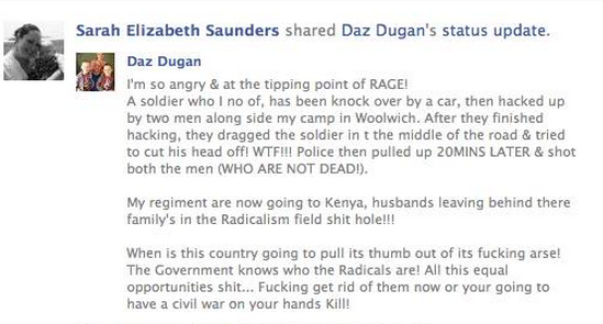 Woolwich Facebook Reaction 5