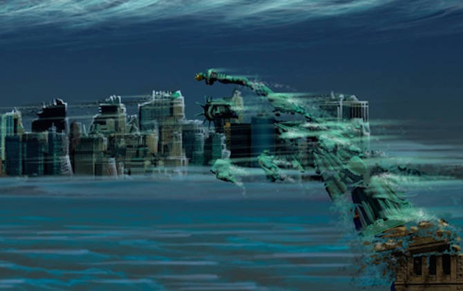 What Would The New York City Skyline Look Like In The Atmospheres Of Other Planets   U2013 Sick Chirpse