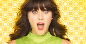 Zooey Deschanel Looks Completely Unrecognizable Without Her Bangs And It Is Completely Freaking Me Out