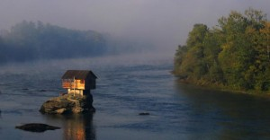 The Crazy Serbian House In The Middle Of A River