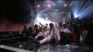 R&B Singer Miguel Leg Drops Fan At Billboard Awards