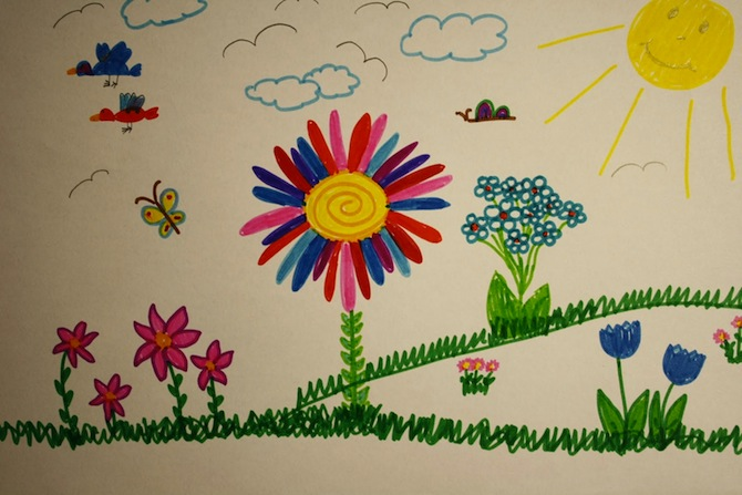 kid painting - Picture For Kid Painting