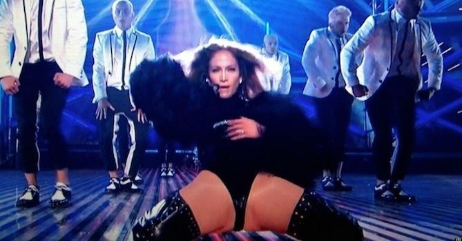 Britain Outraged Over Jennifer Lopez Bgt Performance Hundreds