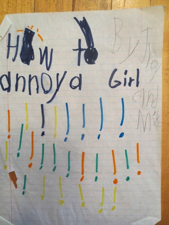 ANNOY GIRL
