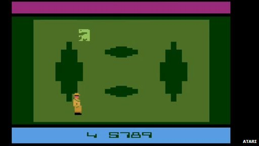 E.T. gameplay