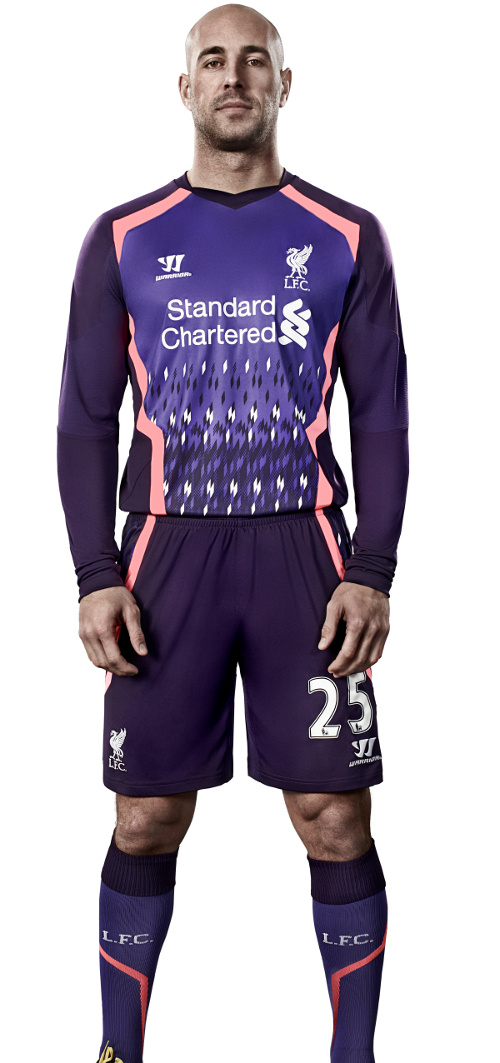 Liverpool Away Strip 2