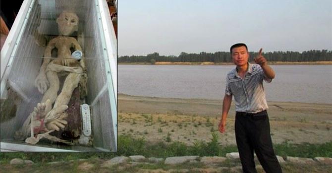 Mr Li - China Alien In Freezer Arrest - Mr Li