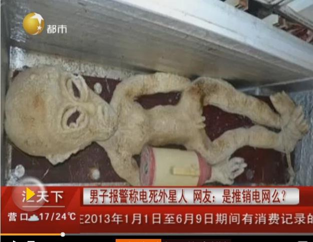 Mr Li - China Alien In Freezer Arrest - News