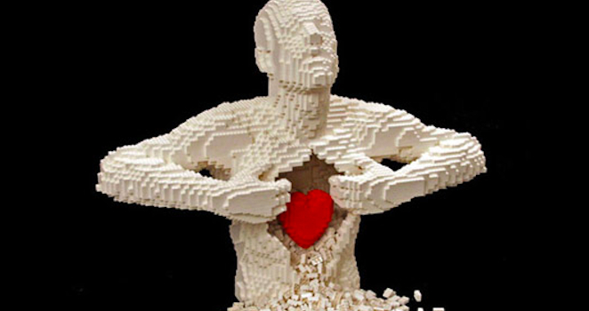 Nathan Sawaya Lego Art