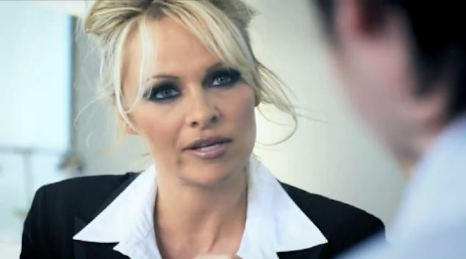 Pamela Anderson Banned Advert