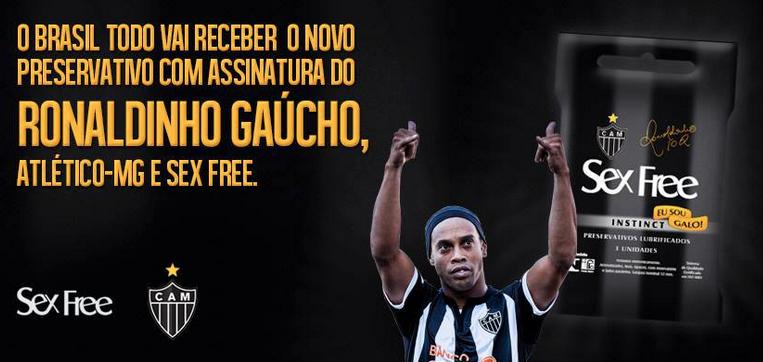 Ronaldinho Sex Free Condoms