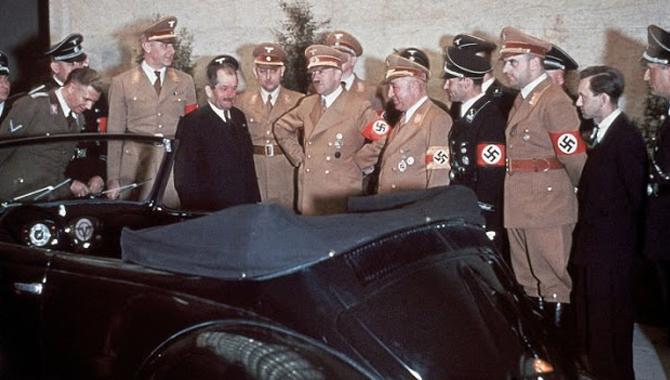 Hitler Car Colour