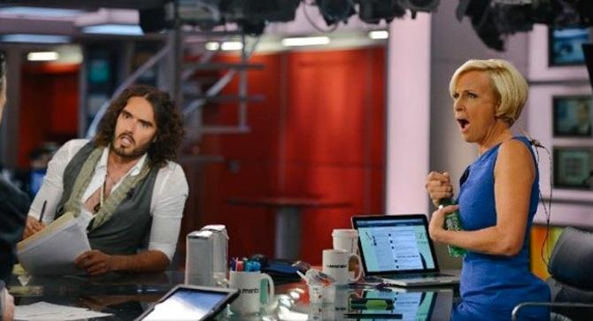 RUSSELL BRAND MSNBC