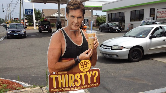David Hasslehoff Iced Coffee